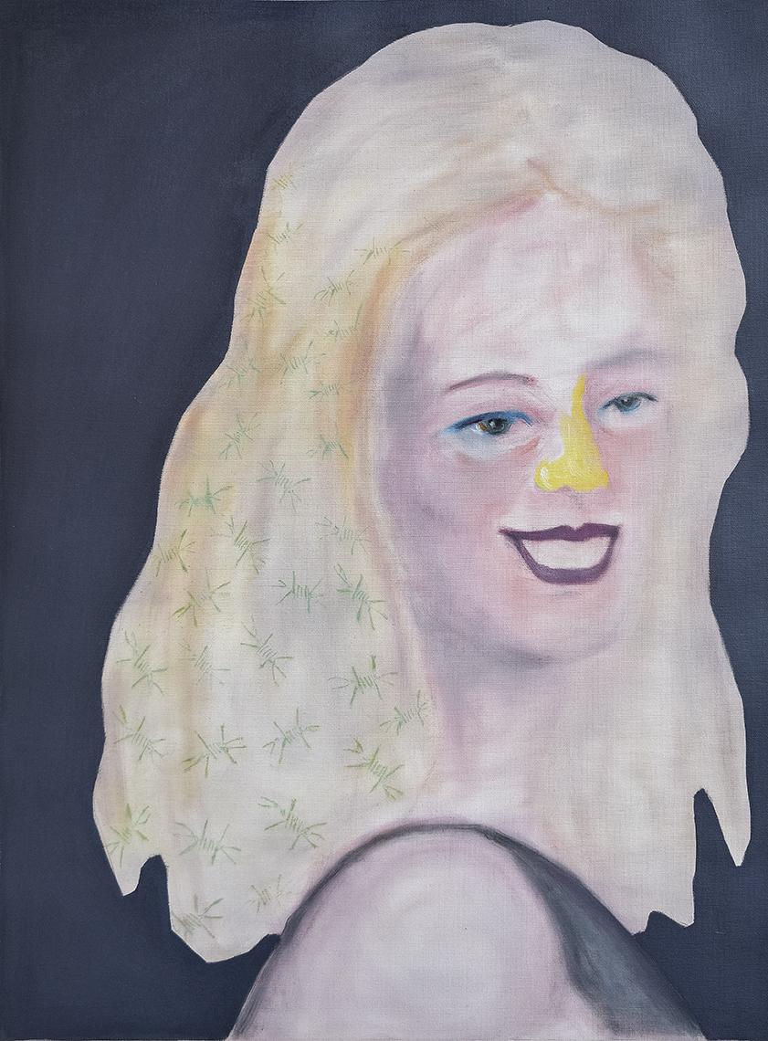 Rina Messinger, Contemporary painting by romanian artist Augustin Razvan Radu